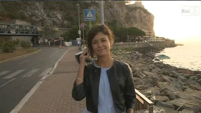 L'inviata Sara Mariani minacciata in diretta: non è un Paese libero, se non c'è libertà di stampa.