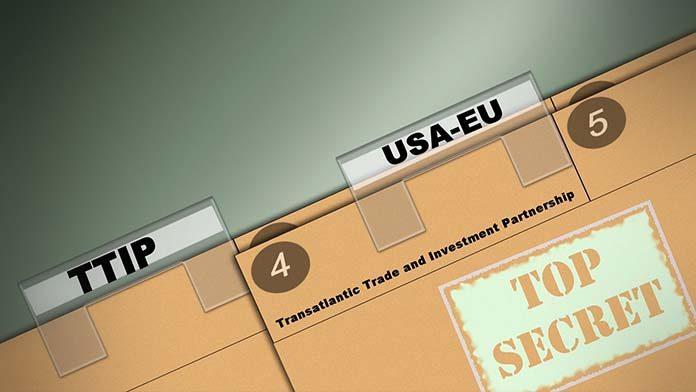 Il TTIP è il trattato di libero scambio e commercio negoziato dall'unione Europea e dagli Stati Uniti.